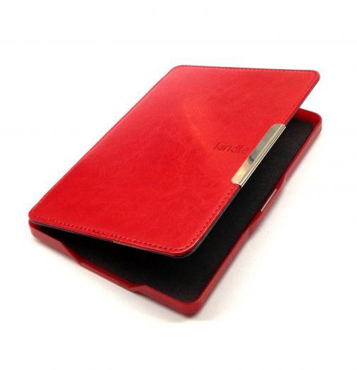 Обложка для Amazon Kindle Paperwhite (с магнитной застежкой) Красная