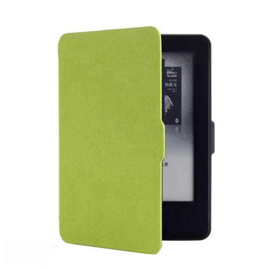 Чехол-обложка Texture для Amazon Kindle Paperwhite 2014/2015 Салатовая (с магнитной застежкой)
