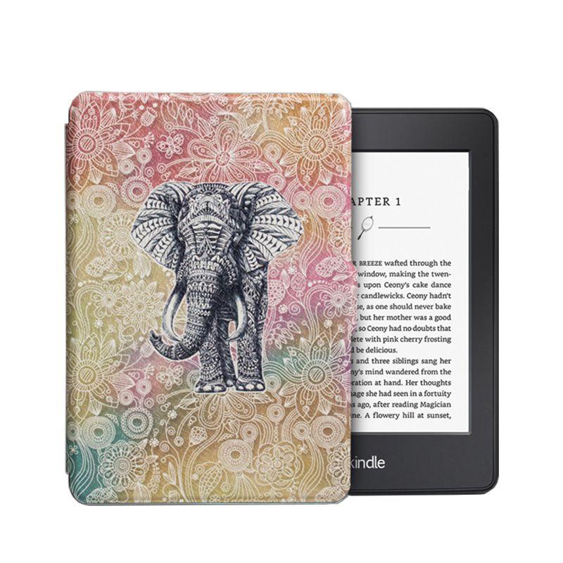 Чехол-обложка  для Amazon Kindle Paperwhite (Слон)